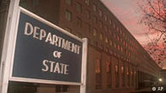FILE - In this Dec. 9, 1999 file photo, the State Department building is shown in Washington. Hundreds of thousands of State Department documents leaked Sunday, Nov. 28, 2010 revealed a hidden world of backstage international diplomacy, divulging candid comments from world leaders and detailing occasional U.S. pressure tactics aimed at hot spots in Afghanistan, Iran and North Korea. (AP Photo/Wayne Partlow, File)