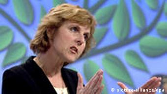 European Climate Action Commissioner Connie Hedegaard of Denmark