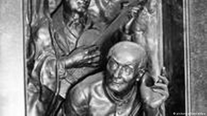Priester Joseph Mohr und der Lehrer Franz Gruber