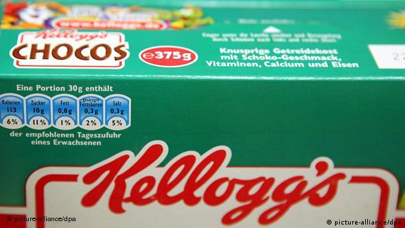 Cornflakes Karton Kellogs