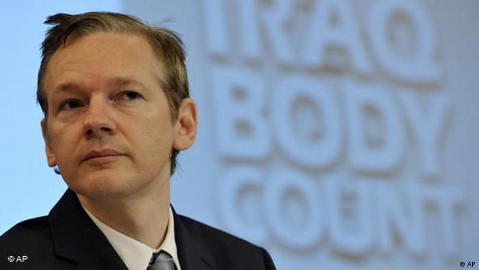 Julian Assange Gründer Wiki Leaks Flash-Galerie (AP)