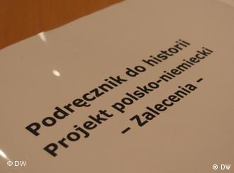 Polsko-niemiecki podręcznik do nauczania historii jeszcze w sferze planów