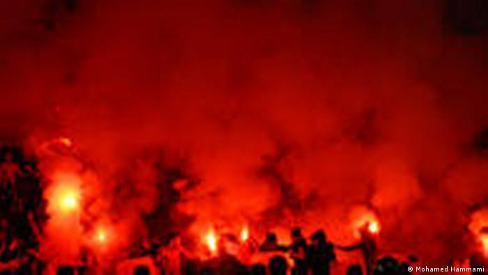 Gewalt in Stadien in Tunesien