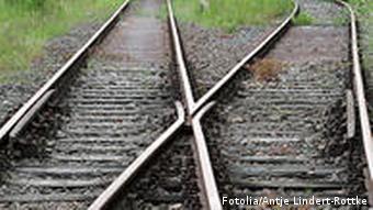 Deutschland Eisenbahn Bahngleise
