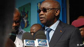 Porträt von Laurent Gbagbo (Foto: AP)