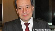 Andrej Makarow, russischer Journalist, Abgeordneter der Staatsduma. Das Bild gemacht am 01.12.2010. Autor: DW-Korrespondent,