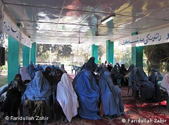 Afghan women at a gathering
