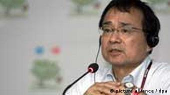 Japanese Deputy Environmental Minister Hideki Minamikawa