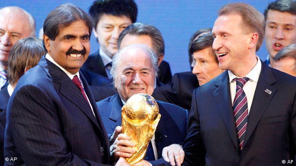 Die Gewinner Sind Russland Und Katar Fussball Dw 02 12 2010