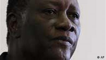 Porträt des Oppositionsführer Alassane Ouattara (Foto: ap)