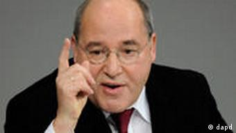 Left party chair Gregor Gysi