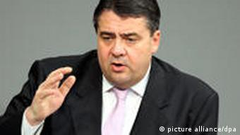 The chairman of the opposition Social Democrats, Sigmar Gabriel