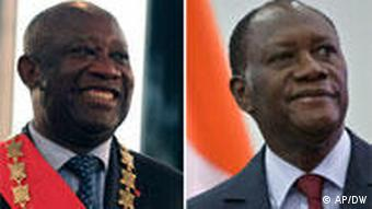 Laurent Gbagbo and Alassane Ouattara