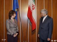 سعید جلیلی و  کاترین آشتون در مذاکرات ژنو - ۶ دسامبر ۲۰۱۰