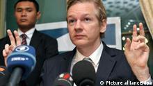 Julian Assange Wikileaks Gründer