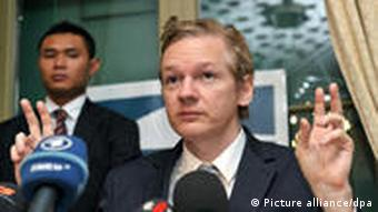 Domscheit-Berg disassociated himself from WikiLeaks and Julian Assange due to disagreements in September 2010