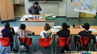 Childen in a classroom