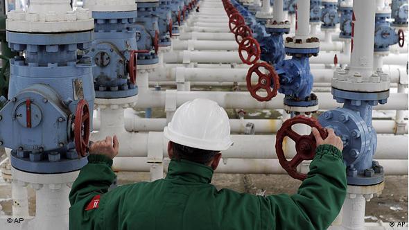 engineer at gas pipeline