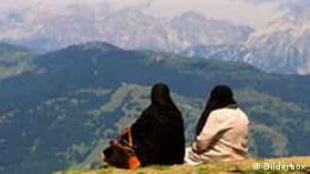 Islamische Frauen in der Bergwelt