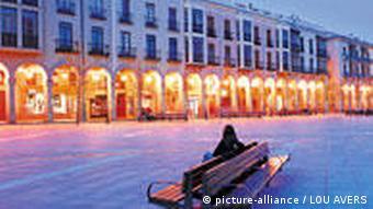 The Santa Teresa Square in Avila