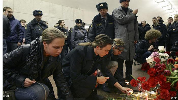 Jahresrückblick 2010 International März U-Bahn Anschlag in Moskau Russland