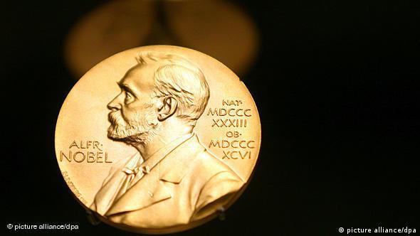 Schweden Norwegen Nobelpreis Medaille von Alfred Nobel