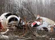 هواپیمای لخ کاچینسکی آپریل ۲۰۱۰ در مسیر روسیه سقوط کرد