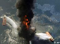 Explosão da plataforma Deepwater Horizon causou 11 mortes