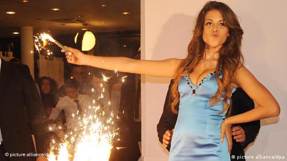 Карима аль-Маруг по прозвищу Руби работала танцовщицей в ночном клубе
