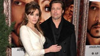 The Tourist Film Premiere Angelina Jolie Brad Pitt Johnny Depp