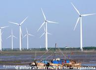 China: grandes invstimentos em energia eólica
