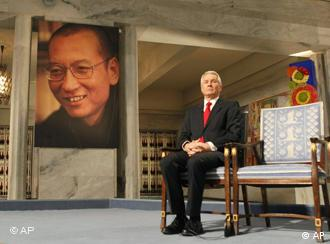 Liu Xiaobo's chair remained empty in Oslo