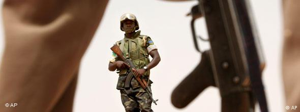 Sudan Darfur Soldat NO FLASH