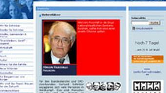 Screenshot www.fuerschroeder.de