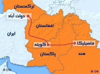 مسیر خط لوله گاز «تاپی»