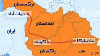 به دنبال اعمال تحریمهای اقتصادی شورای امنیت سازمان ملل متحد علیه ایران، طرح تاپی جایگزین خط لولهی صلح خط لولهی گازی ایران به هند و پاکستان شد.