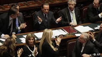 Silvio Berlusconi Senat Italien