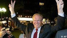 Göran Persson nach den Wahlen in Schweden