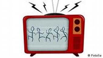 Symbolbild Fernsehen TV