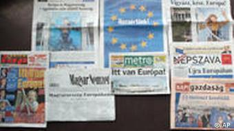 Zeitungen Ungarn Budapest