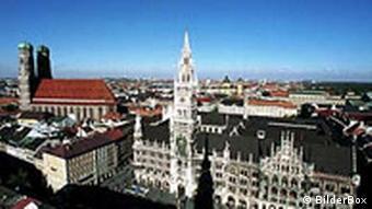 München Rathaus und Liebfrauenkirche