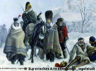 Christian Wilhelm von Faber du Faur (1780–1857): horrores da guerra nos arredores de Smorgony
