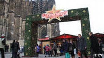 Weihnachtsmarkt in Köln (Foto: DW/Majed Abusalama, Köln)
