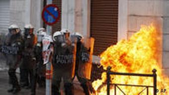 Griechenland Proteste gegen Sparpläne des Staates