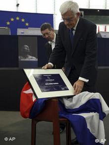 Der Sacharow-Preis 2010 geht an den kubanischen Dissidenten Guillermo Fariñas