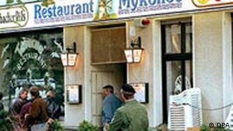 Attentat Restaurant Mykonos