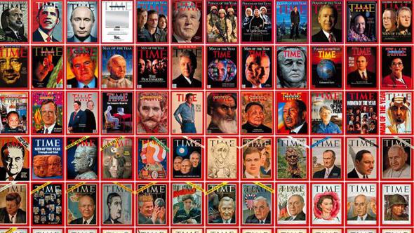 چهرههای سال تایم، از ۱۹۲۷ تا ۲۰۰۹