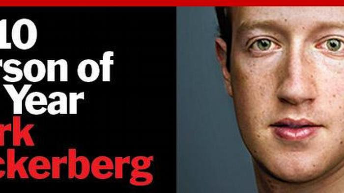 Time Cover Mark Zuckerberg Person of the Year NO FLASH