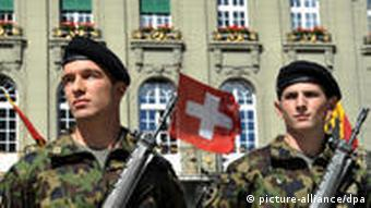 Swiss soldiers