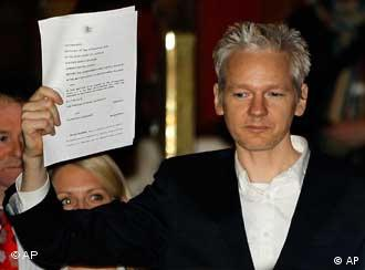 Julian Assange (Foto: AP)